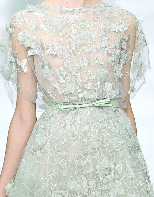 light mint fairy gown