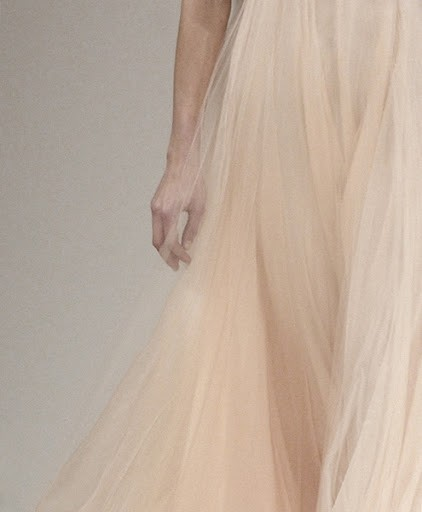 light pink tulle dress