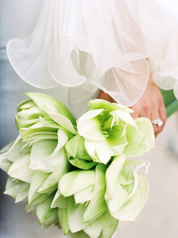 Lime Green Flower Bouquet