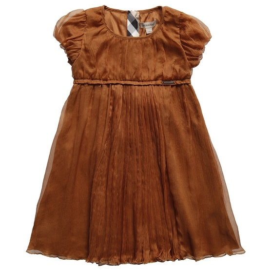 limited edition brown silk dress
