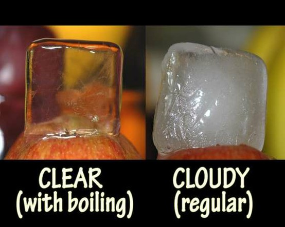 make crystal clear ice