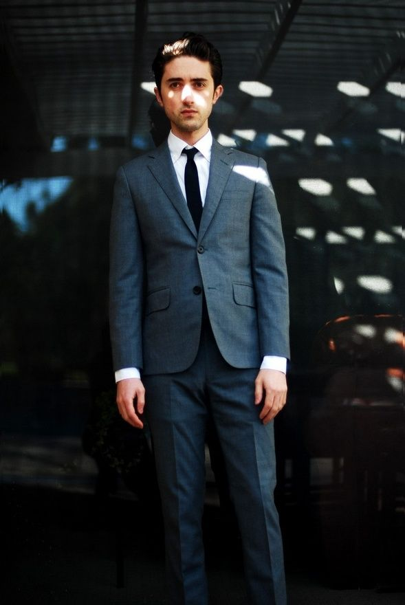 mens suit grey suit