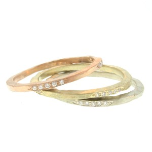 merchant rings rose gold