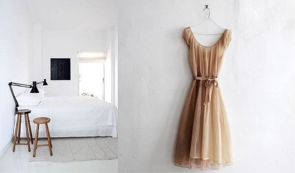 minimalistic dreaming bridesmaid dress