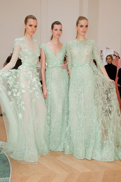 mint wedding gowns fashion