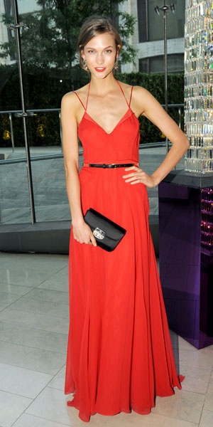 style awards red dress