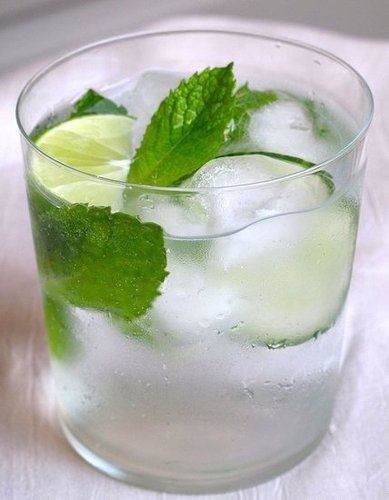 mojito mint wedding cocktail