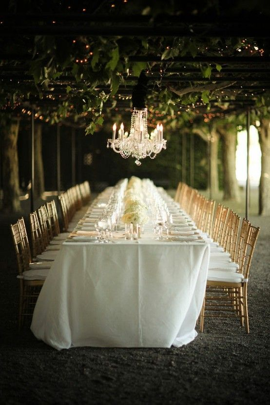 napa wedding tables