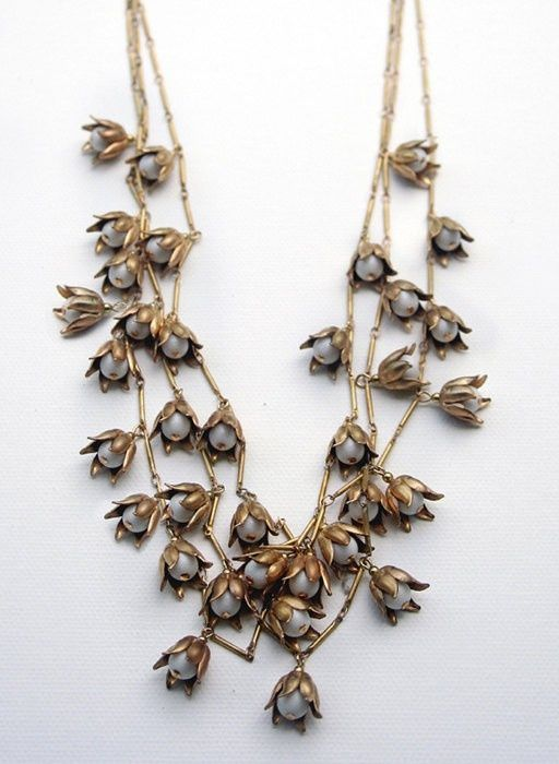 necklace fall wedding