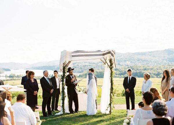 New York Jewish Wedding Ceremony