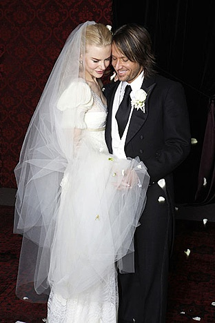 nicole kidman wedding