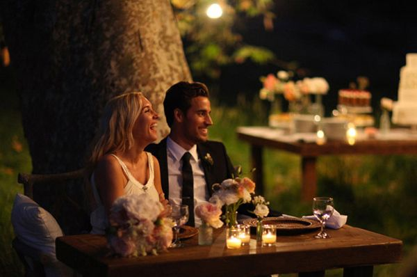 Nightime Wedding Reception Ideas