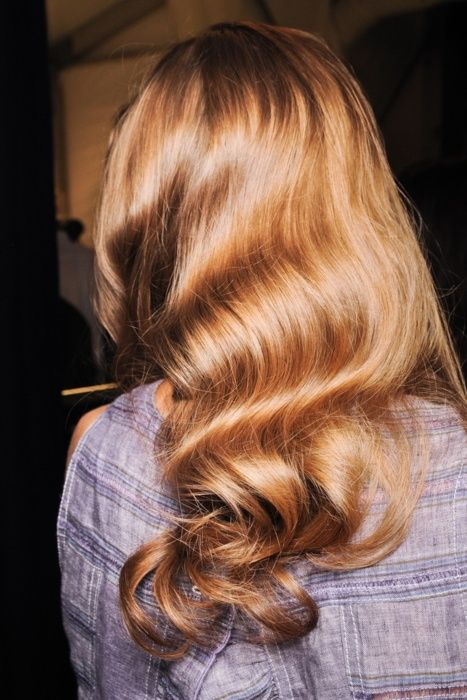 old-fashion-curls - Once Wed