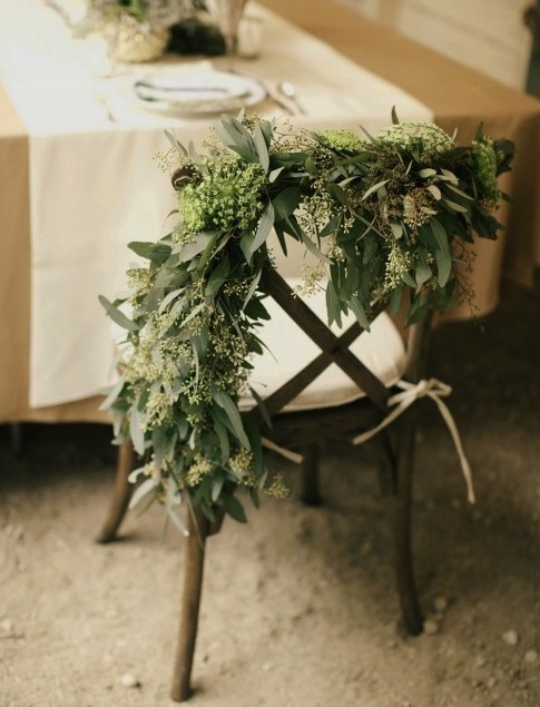 olive branch chair decor