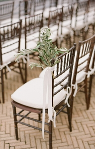 olive branch chair decorations