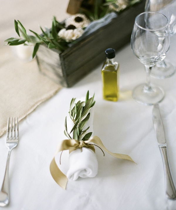 olive branch white gifts