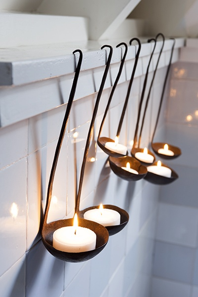 hanging candles