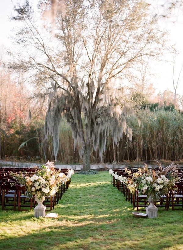 outdoor-mossy-wedding-ceremony