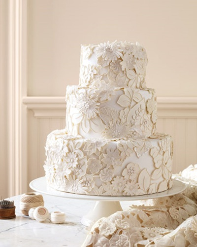 heirloom lace cake