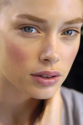 how to get pink cheeks naturally at home