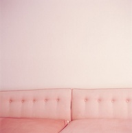 pink long couch