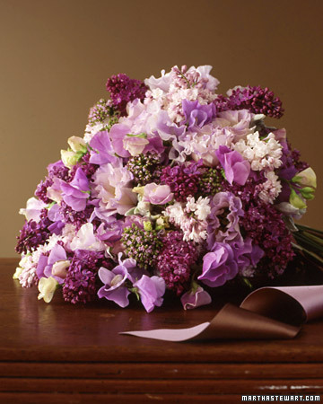 pink purple lavender bouquet
