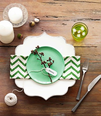 pretty not pricey place setting ideas