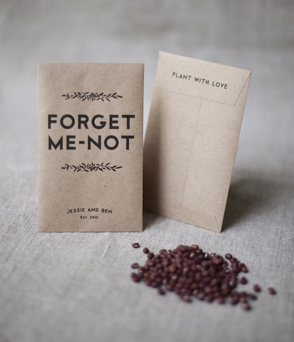 printable seed pack wedding ideas