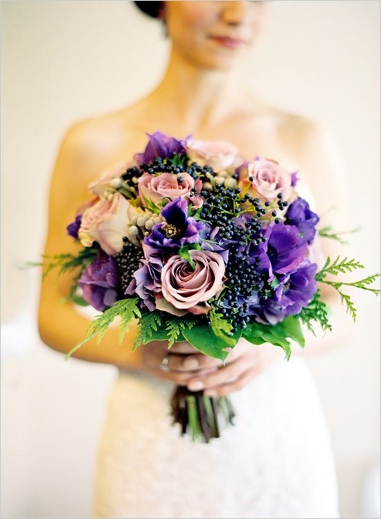 Purple Berry Bouquet