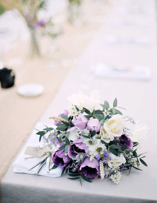 Purple Lavender Bouquet