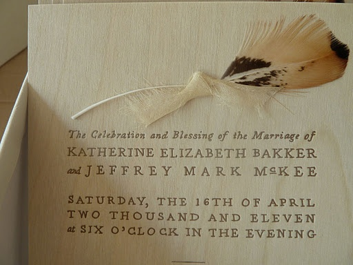 real weddings feather decor