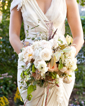 real wedding spring bouquet