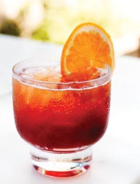 roasted orange cocktail