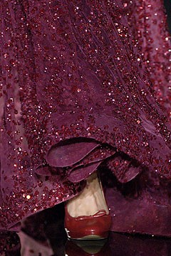 ruby red shoes purple dress