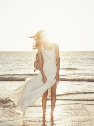 sea dress wedding beach casual