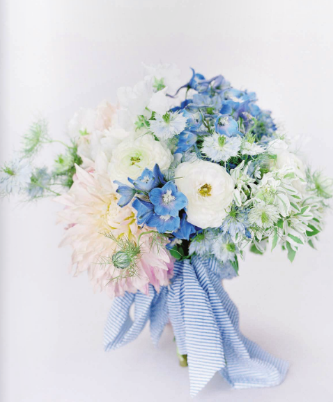 Seersucker Ribbon Bouquet