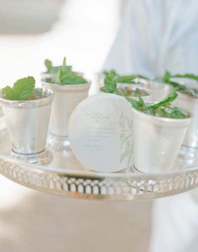 silver cocktail cups