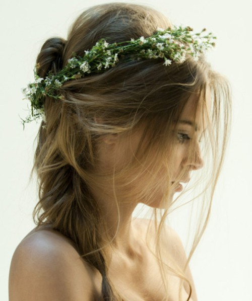 simple hair halo