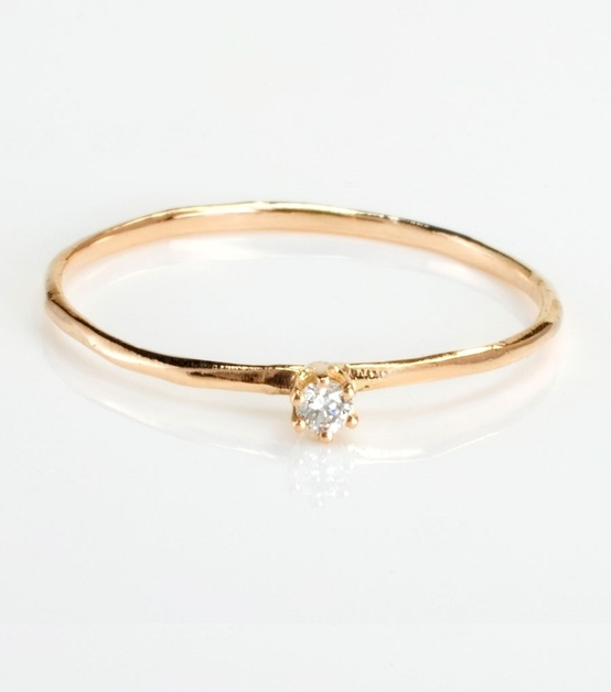 small diamond ring ce Wed