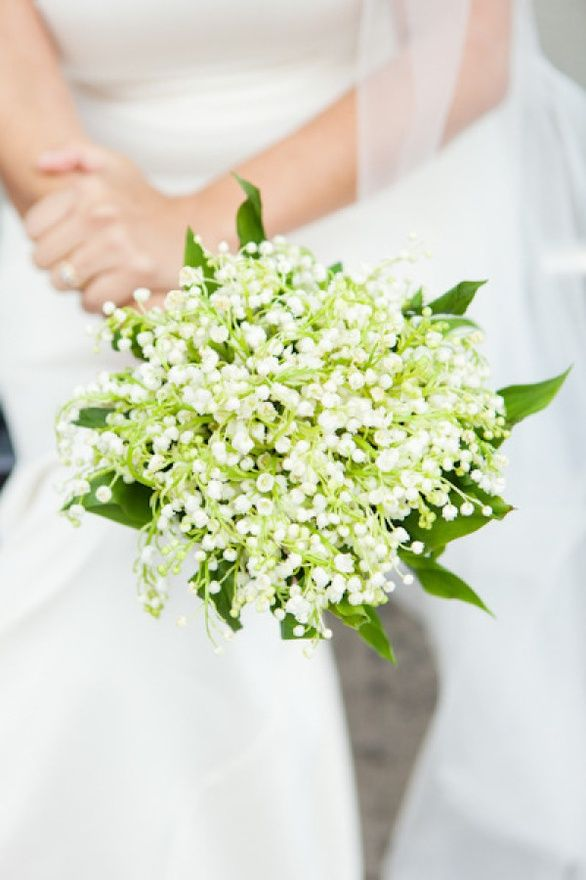 small-white-flower-bouquet-simple - Once Wed
