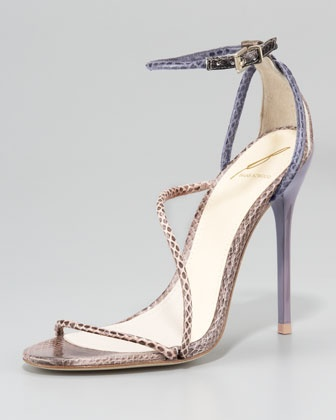 snake skin stilleto shoes