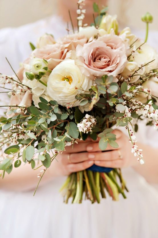 soft delicate feminine romantic bouquet