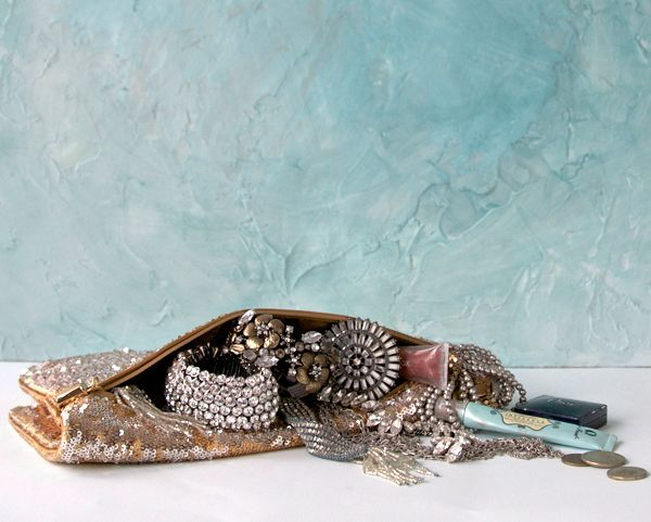 soft turquoise accessories clutch jewlery