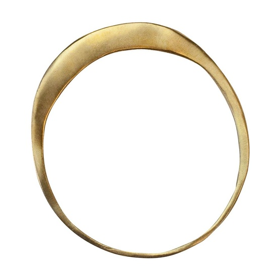 solid gold band