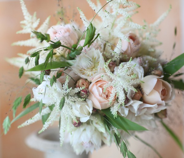 Spring Pink White Bouquet