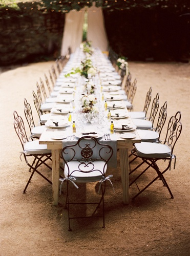 stone garden wedding reception