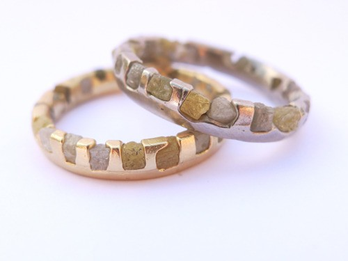 stone gold rings