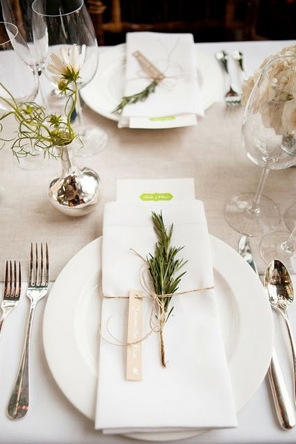 style table setting