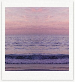 sunset summer purple pink