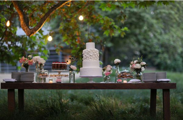 Sweet and Saucy Dessert Table